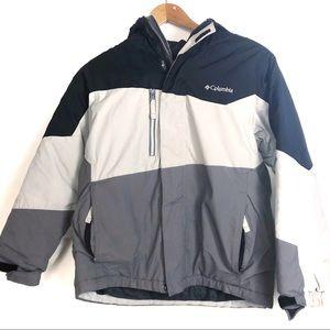 Columbia Color Block Boy's Winter Jacket 10/12